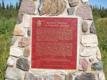 Methye Portage Monument